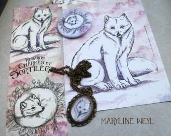 "Nice magic set ""Arctic fox"""