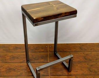 "Bar stools 24"" or 25"" tall counter stool, kitchen stool, cool stool, different bar stool, 14x12 bar stool."