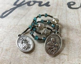 St. Ann Handmade Catholic Chaplet
