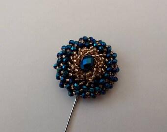 Men's Lapel Pin.....Beaded Lapel Pin