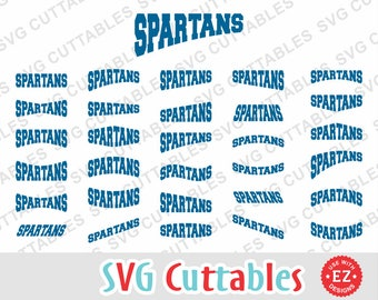 Spartans EZ Layouts, svg, eps, dxf, Set of 30, Digital Cut File for cutting machines