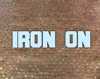 Personalization Add On | Iron On aka Heat Transfer Vinyl