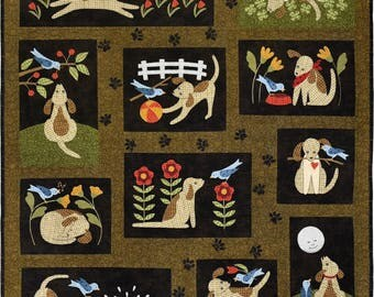 You Lucky Dog! Quilt Pattern Set