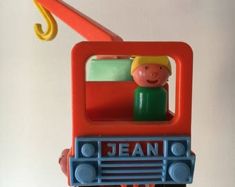 Vintage Jean tow truck