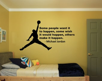 Michael Jordan Decal Etsy - How to make car decals at home