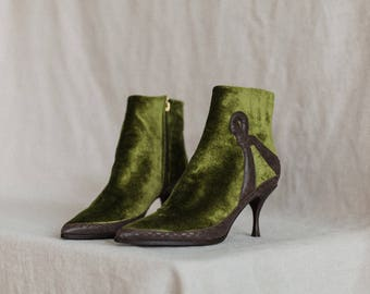 Vintage Roberta Di Camerino Booties (8.5)