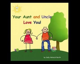 Grandma and Grandpa personalized children's book, personalized birthday gift, book for grandchildren.
