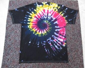 Black, tie dye shirt, Grateful Dead, galaxy, midnight