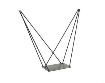 Double table leg reinforced 71 cm - Hairpin legs