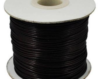 1 meter 2.5 mm in diameter waxed polyester cord