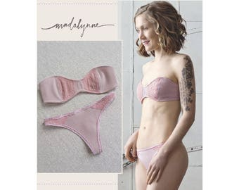 Simplicity Sewing Pattern 8437 Misses' Strapless Bra and Panties