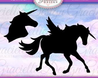 Unicorn Wishes SVG Cut Files
