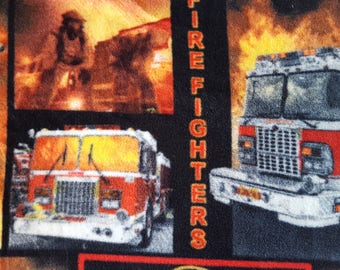Fire Fighters Fleece Fabric (35 inches)