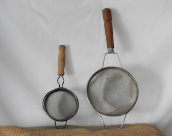 A Pair of Strainers