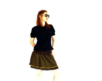 cute skirt with dentellle