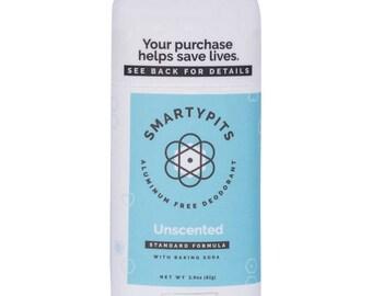 Deodorant: Natural, Prebiotic-Infused, and Aluminum-Free [UNSCENTED]