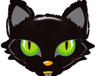black cat balloon halloween balloon halloween decorations halloween party halloween party decorations