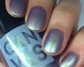 VALAR MORGHULIS by CANVAS lacquer, a violet base with a chameleon shift