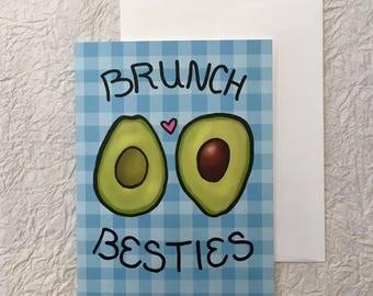 Brunch Besties Card