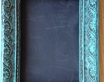Custom painted blue frame