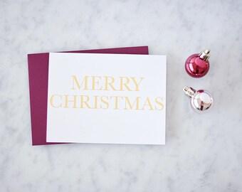 Merry Christmas Card Christmas Card Holiday Card Merry Christmas Card Set Christmas Christmas Gift Happy Holiday Greeting Card