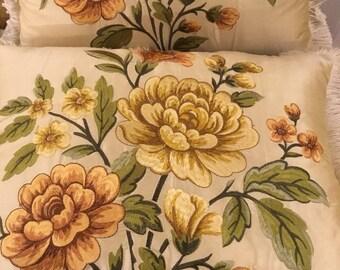 Luxury rare silk pillow set