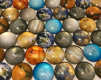 Small Planet Magnets or Thumbtacks