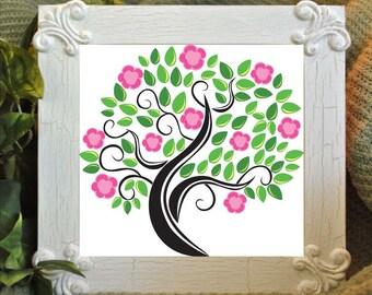 PDF cross stitch: flowers, garden