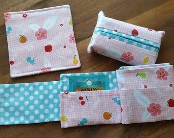 Tea Bag Wallet set