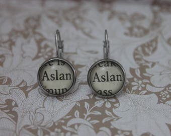 Aslan Earrings ~ The Lion, The Witch And The Wardrobe  ~ C.S Lewis