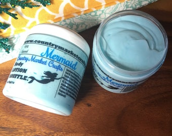 Mermaid Body Soufflé Hand & Body Lotion Natural Handmade lotion - Valentines Day Gift