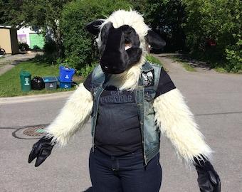 Sheep fursuit partial