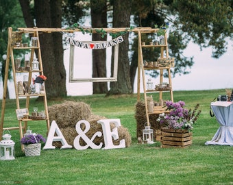1 Large Foam Rubber Letter Wedding Decor Initials Letter Decor Home Decor