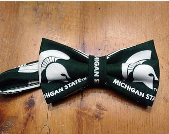 Michigan State Spartans Bow tie.