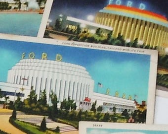 Chicago Worlds Fair of 1893 / Vintage Glimpse of Tomorrow from Yesterday / Great Color