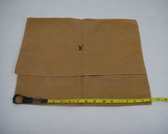 """AUTHENTIC Louis Vuitton Cotton Dust Bag 16""""x 12.5""""  LF011001"""