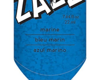 Glitter glue / glue Zazz Navy Blue Glitter