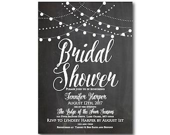 Bridal Shower Invitation, Printable Bridal Shower Invitation, Printable Invitation, Bridal Shower, Bridal Shower Printable #CL103