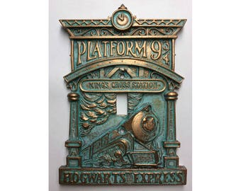 Hogwarts 9-3/4 (Harry Potter) Light Switch Cover