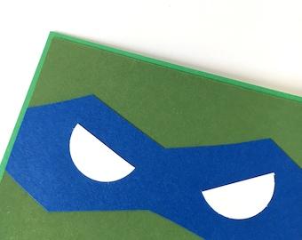 Leonardo Teenage Mutant Ninja Turtles card
