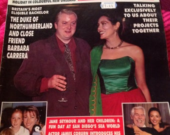 Rare vintage hello magazine 1991.
