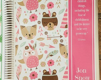 ANIMALS + ARROWS: Create and Color Custom Journal, Creative Notebook, Personalized Blank Book, with 200 Pages, Your Choice of Style