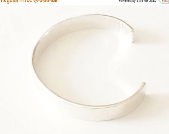 """33% Off Christmas in July Sterling Silver Cuff Bracelet 7"""" (20.1 grams)"""