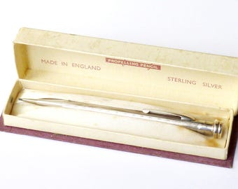 """Vintage 'Life-Long"""" Sterling Silver Mechanical Pencil"""