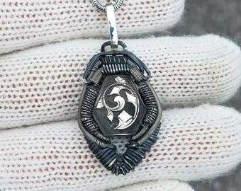 Hybrid Dog Tag pendant