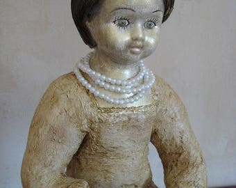 Pearl / Art Doll / contemporary decor