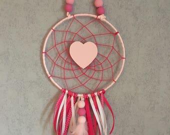 Dream catcher heart