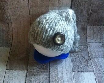Natural & Neutral Range - Sleepy Cap - Stocking Cap - Newborn Props - Photography Props - Knit Props