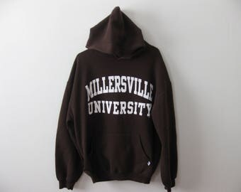 Millersville University Hoodie Sweatshirt Adult Medium Large