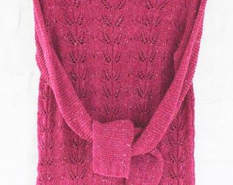 Tweed pullower